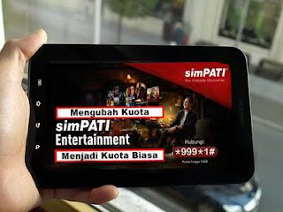 Kuota Entertainment Telkomsel Untuk Apa? Ini Penjelasannya