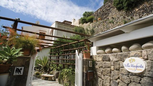 Restaurante Villa Margherita em Capri