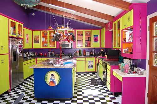 colorful kitchen design the kitchen design. Black Bedroom Furniture Sets. Home Design Ideas