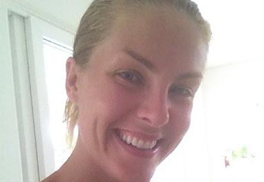 3d3340da82626 A apresentadora postou uma foto em que aparece suada e sem maquiagem, após  o treino. Ana Hickmann começou o ano cheia ...