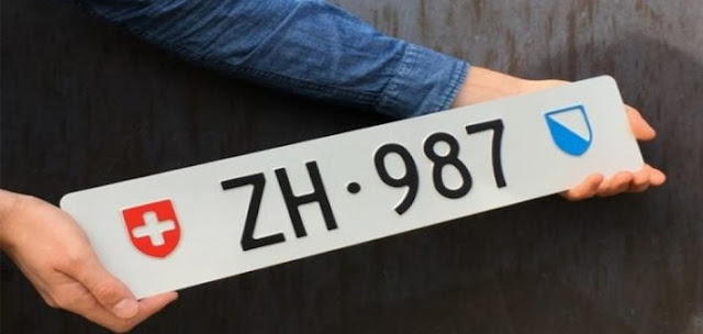 Albanians buys in auction a licence plate for $ 140,000 in Switzerland
