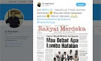 Rizal Ramli: Kok KPU Malu-maluin? Narik Mundur Demokrasi, Bisa Jadi Bahan Ketawaan Sedunia