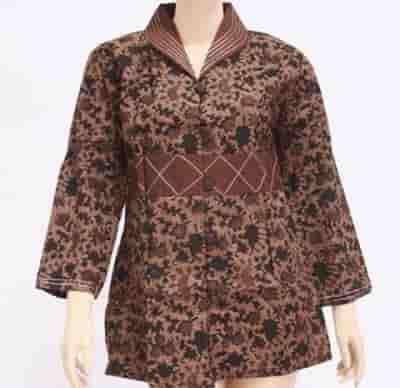 Model Baju Batik Atasan Untuk Wanita Terbaru Ifabrix