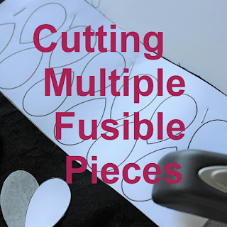 cutting multiple fusible pieces
