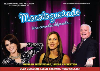 Monologueando en Arequipa