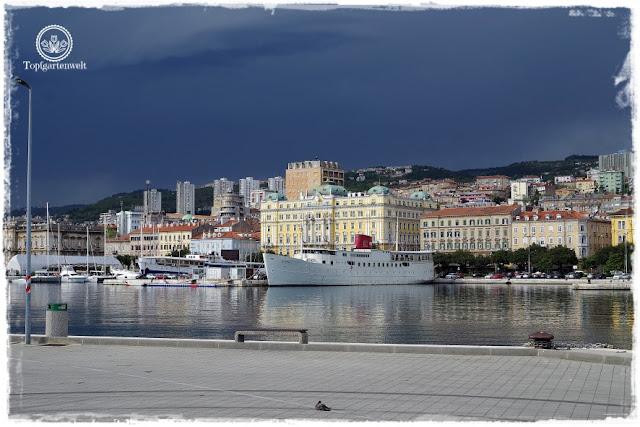 Gartenblog Topfgartenwelt Kroatien: Rijeka Hafen