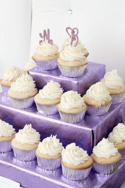 Lingerie Shower Cake Cupcakes