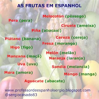 Las frutas en portugués