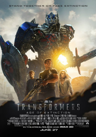 Transformers 4 Age of Extinction (2014) Dual Audio 720p BluRay x264 [Hindi +English] ESubs