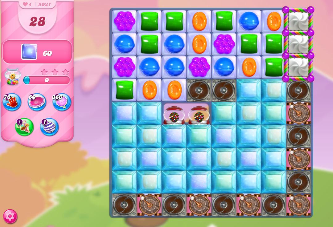 Candy Crush Saga level 5031