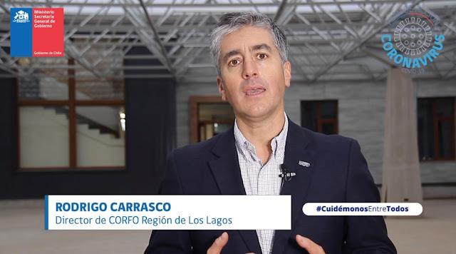 Rodrigo Carrasco, Director Regional de CORFO Los Lagos