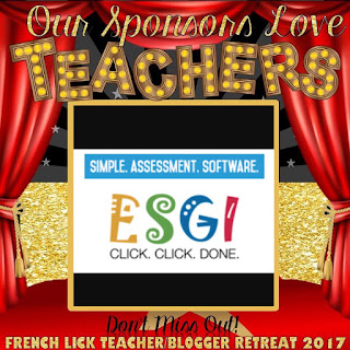 Teacher Sponsor ESGI Software