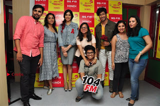 Vidyut Jamwal Adah Sharma Commando 2 Movie Team at Radio Mirchi 95  0043.jpg