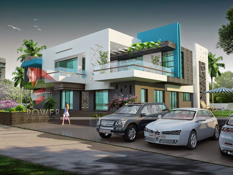 Ultra Modern Home Designs Home Designs: Home Exterior - Floor Plans For Houses In India