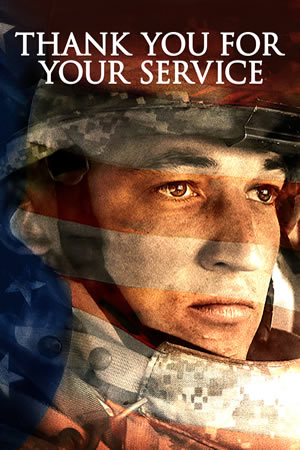 Thank You for Your Service [2017] [DVDR] [NTSC] [Latino]
