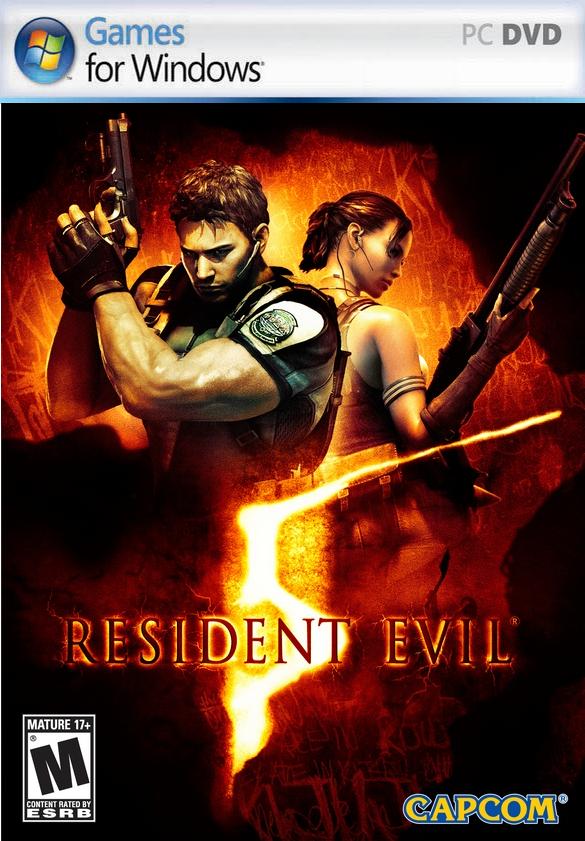 لعشاق ألعاب الرعب والإثارة تحميل لعبة resident evil 5 pc مضغوطة 576 MB