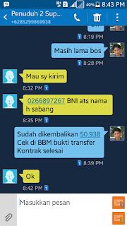 Penuduh Tidak Tanggung Jawab Aktivasi CUG Telkomsel  Suparman Damank  (6)