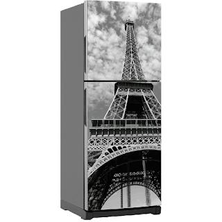 Decora con vinilos la nevera - Torre Eiffel