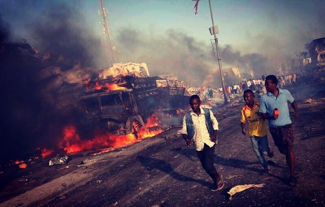 Σομαλία: 276 νεκροί από βομβιστική επίθεση!