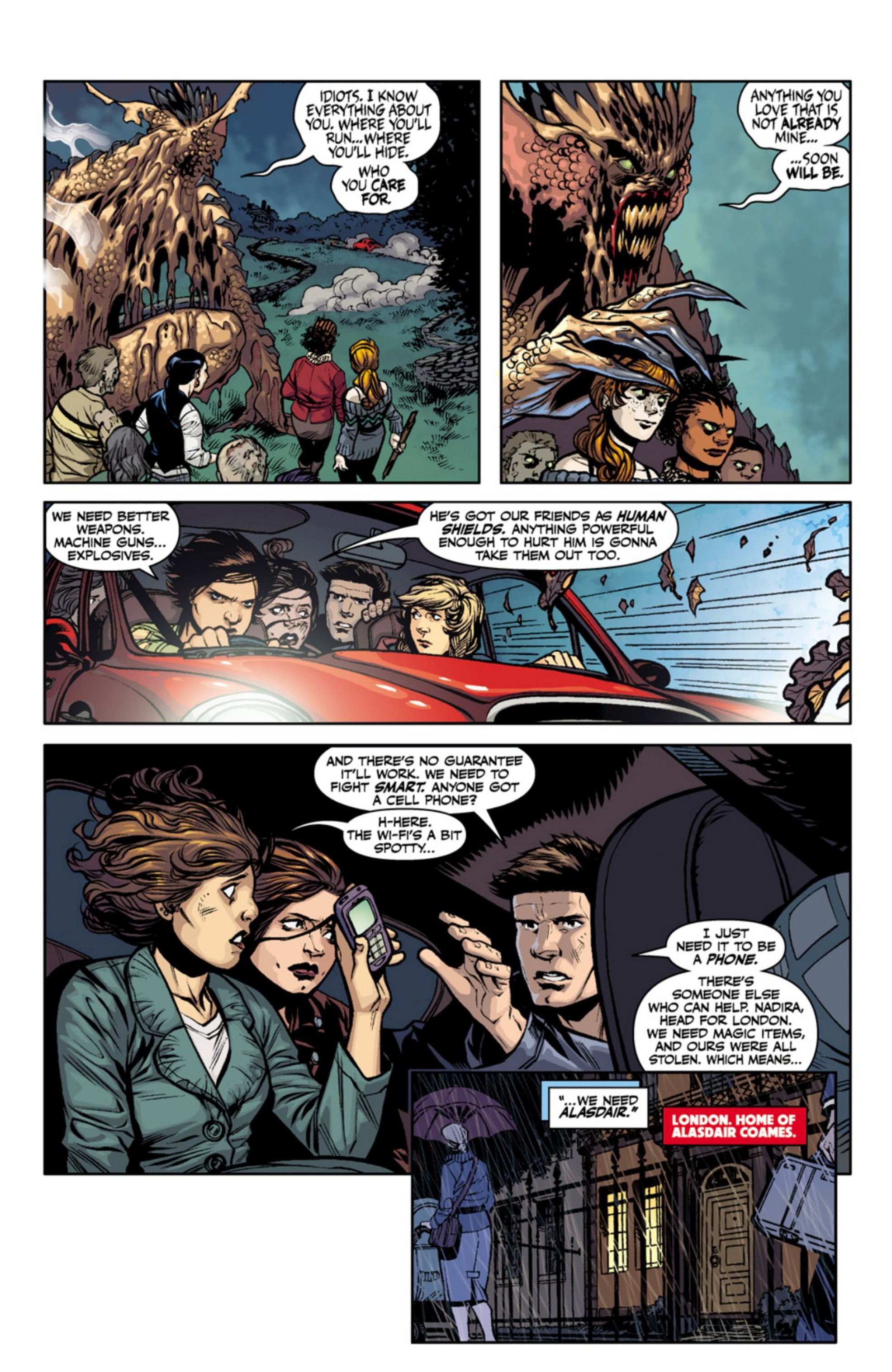 Read online Angel and Faith comic -  Issue #18 - 18