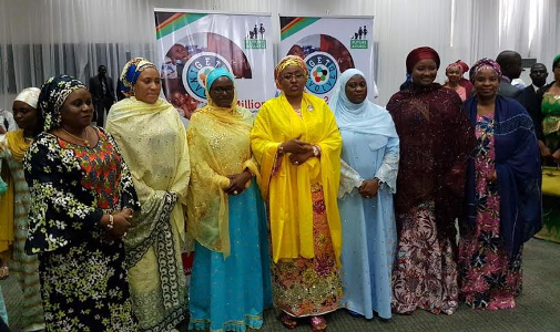 President Buhari wife, Aisha  launch  #GetInvolved initiative