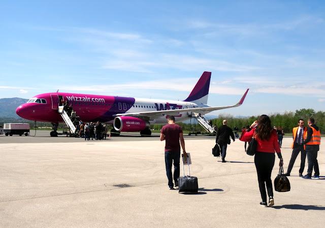 WizzAir in Tuzla International Airport