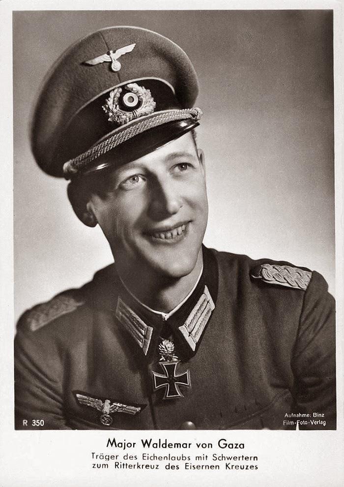 Waldemar von Gaza Ritterkreuzträger Knight Cross Holder Postcard