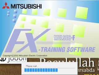 Screenshot 1 : Mitsubishi FX-Series PLC Trainer | Softwares PLC