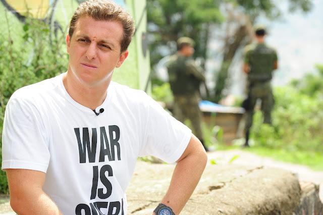 Loucura, loucura, loucura! Faaaala galera! Agora é Oficial 'Quero e vou participar da renovação política no Brasil', diz Luciano Huck