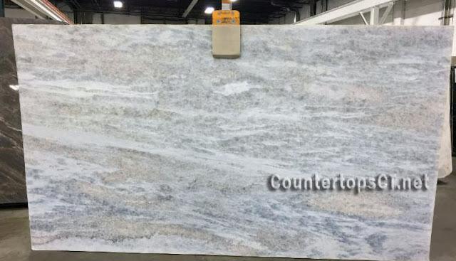 3cm Iceberg Blue Marble Countertops, Marble Slabs