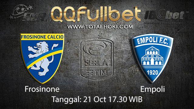 Prediksi Bola Jitu Frosinone vs Empoli 21 October 2018 ( Italian Serie A )