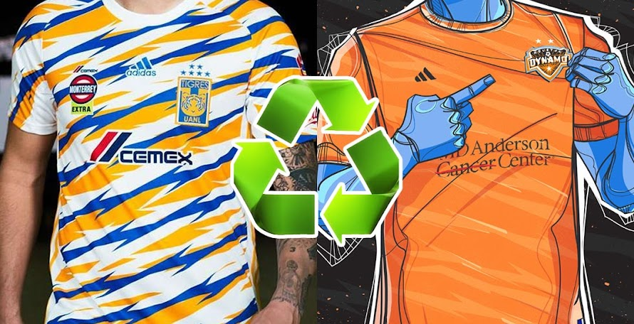 Adidas  Recycles  Kit Design From Tigres For Houston Dynamo 47fbd2344