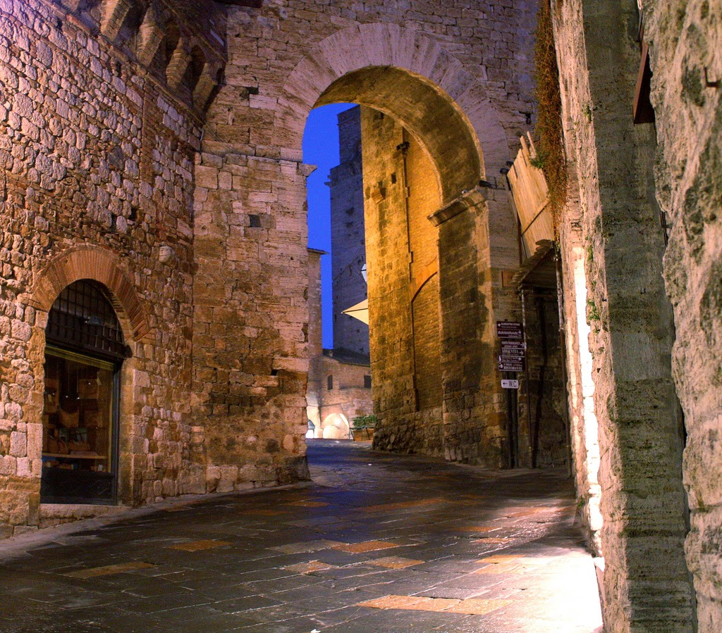 Henrik - San Gimignano