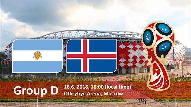 Svetsko prvenstvo: Argentina - Island livestream gledanje [16.06.2018 15:00]