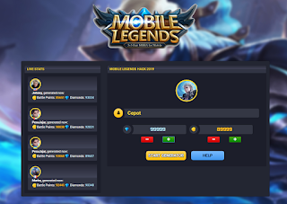 Mobleg.com Hack diamond and Coins mobile legend with mobleg. com