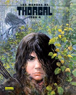 LOS MUNDOS DE THORGAL LOBA 4 CROWS  Comic europeo Yann y R. Surzhenko