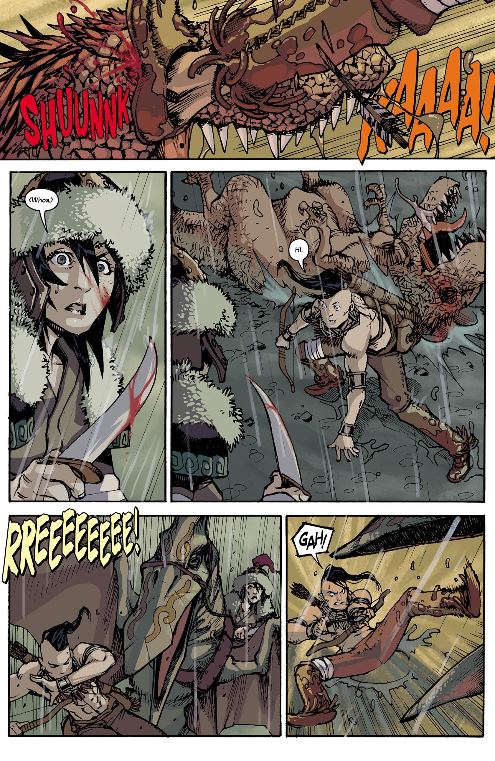 Read online Turok: Dinosaur Hunter (2014) comic -  Issue #5 - 10