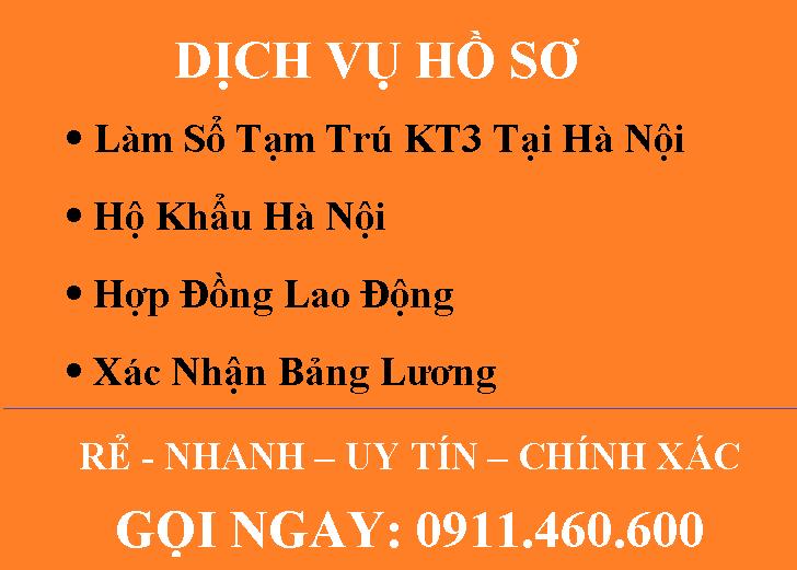 Dịch Vụ Hồ Sơ
