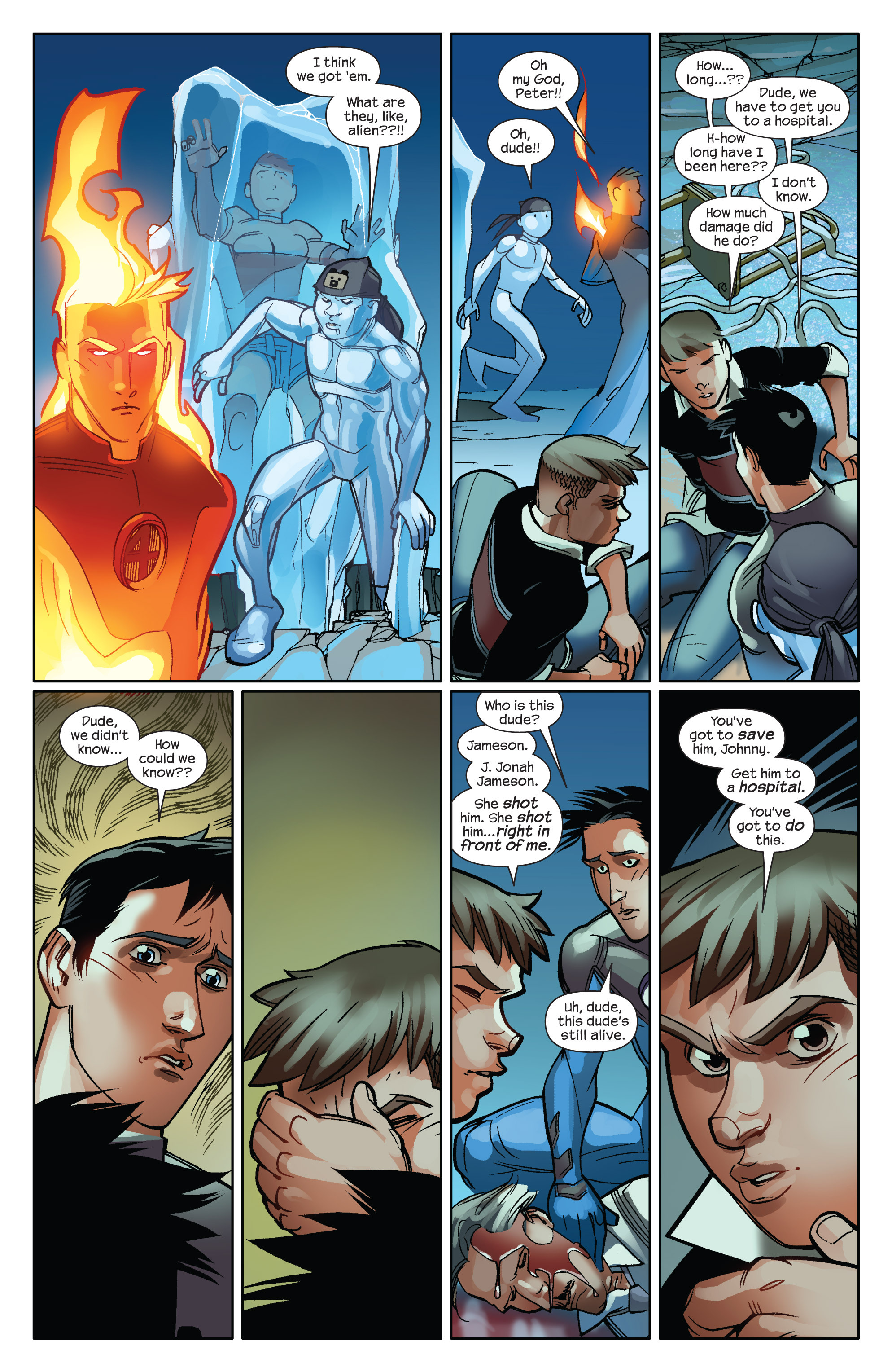 Read online Ultimate Spider-Man (2009) comic -  Issue #14 - 16