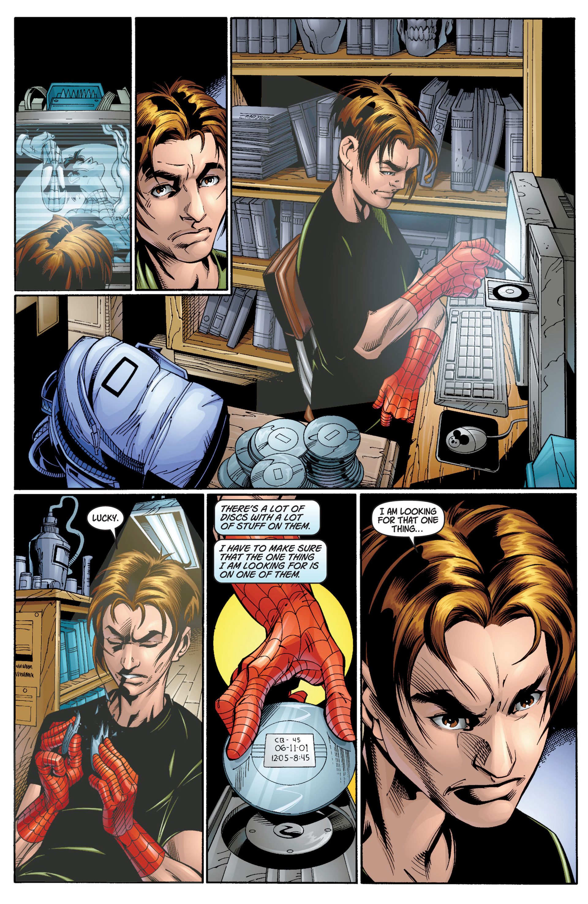 Read online Ultimate Spider-Man (2000) comic -  Issue #12 - 17