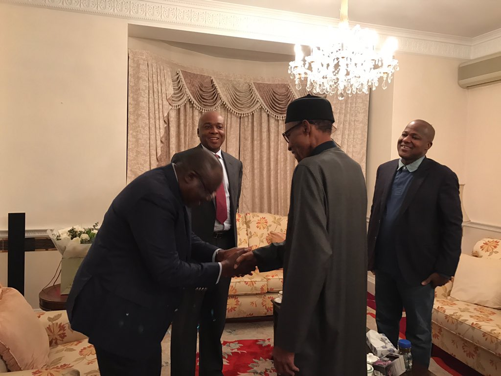 Buhari appreciates Christians,Muslims for their supportive prayers (Tweets)