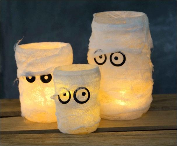 el yapımı mumya lamba