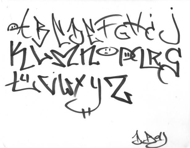 Graffiti Graffiti Writing Styles Alphabet