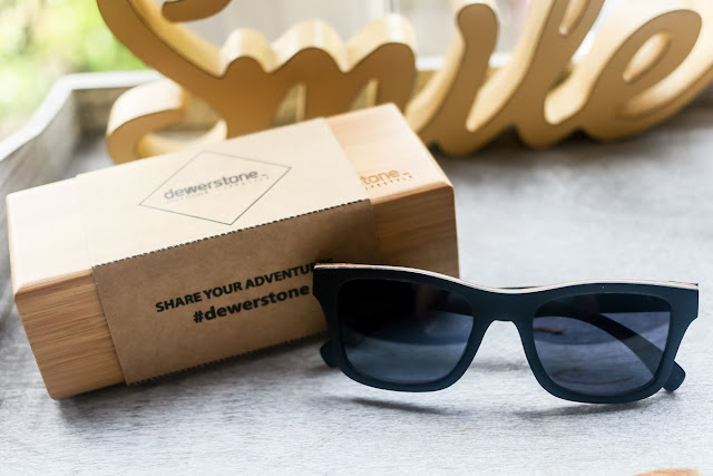 dewerstone sunglasses made in dartmoor, england from walnut and oak