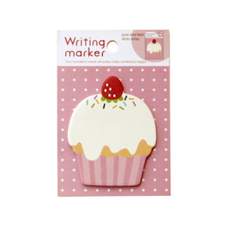 Sticky Notes Post It Cupcake