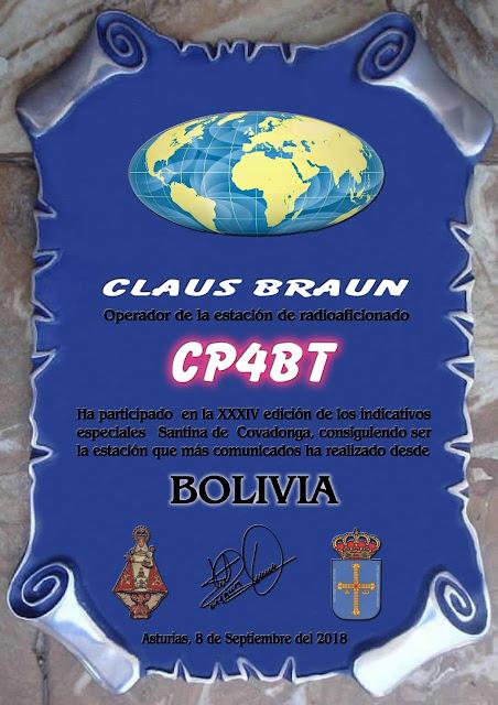 Bolivienmeister im Jahr 2018