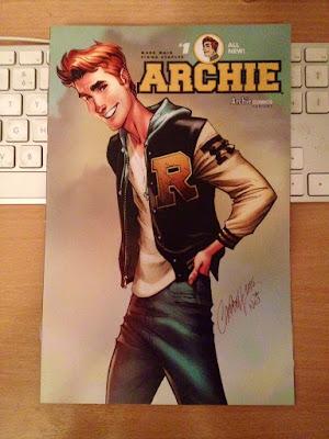 Archie #1 -Portada Variante Campbell