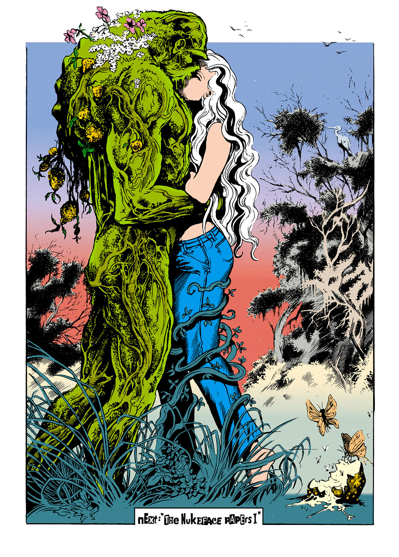 Swamp Thing (1982) Issue #34 #42 - English 19