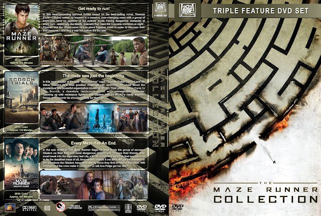 The Maze Runner Collection DVD Cover