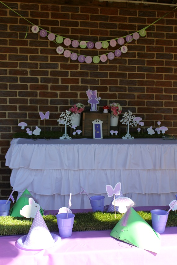 Fairy Party Tablescape, Fairy Party Decoration, Fairy Party Printables Fairy Party Hire